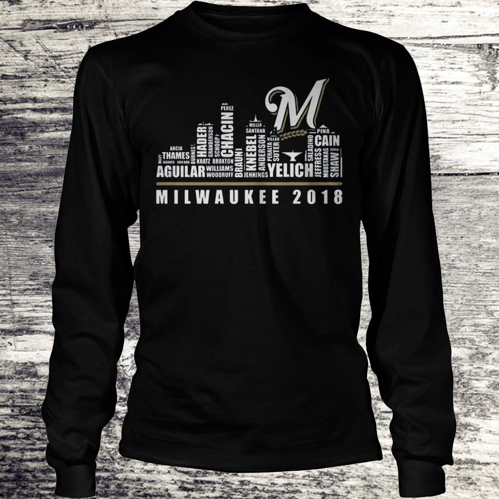 Original Milwaukee 2018 Shirt Longsleeve Tee Unisex
