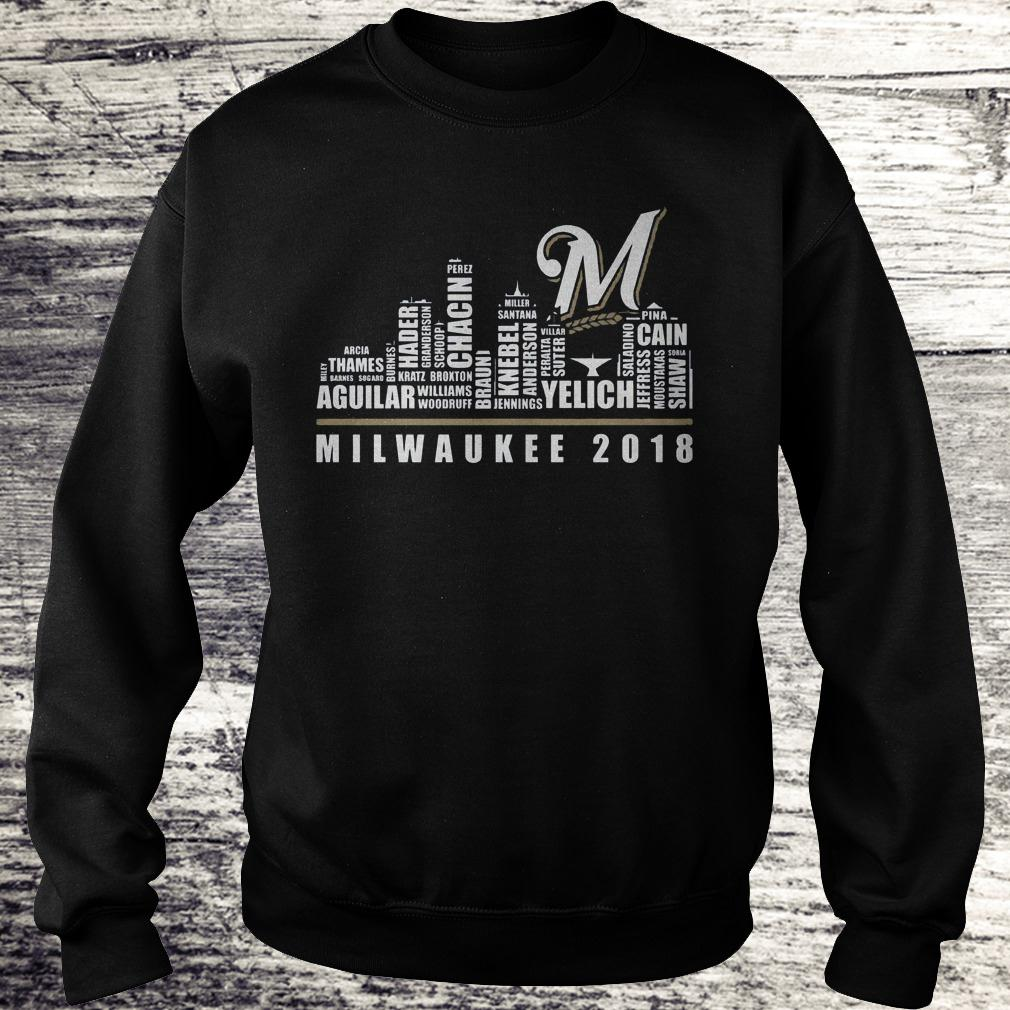 Original Milwaukee 2018 Shirt Sweatshirt Unisex