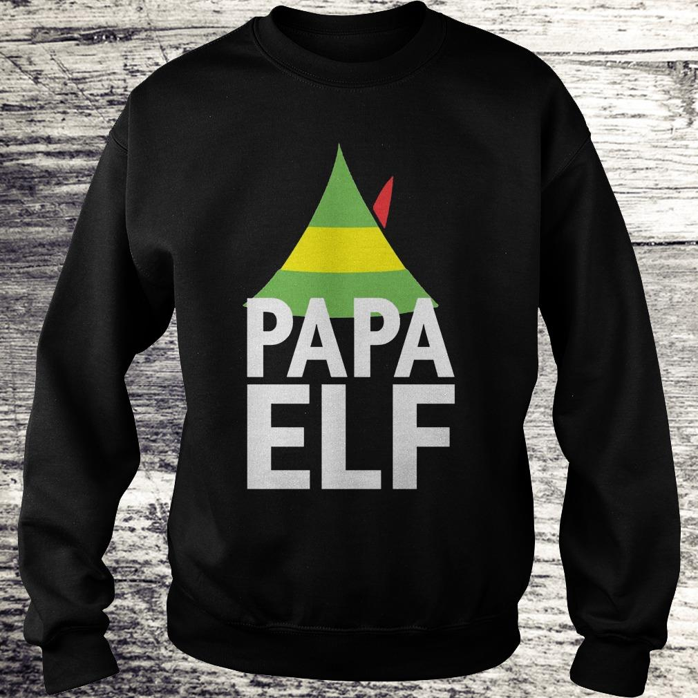 Papa Elf Buddy the elf Christmas Shirt Sweatshirt Unisex