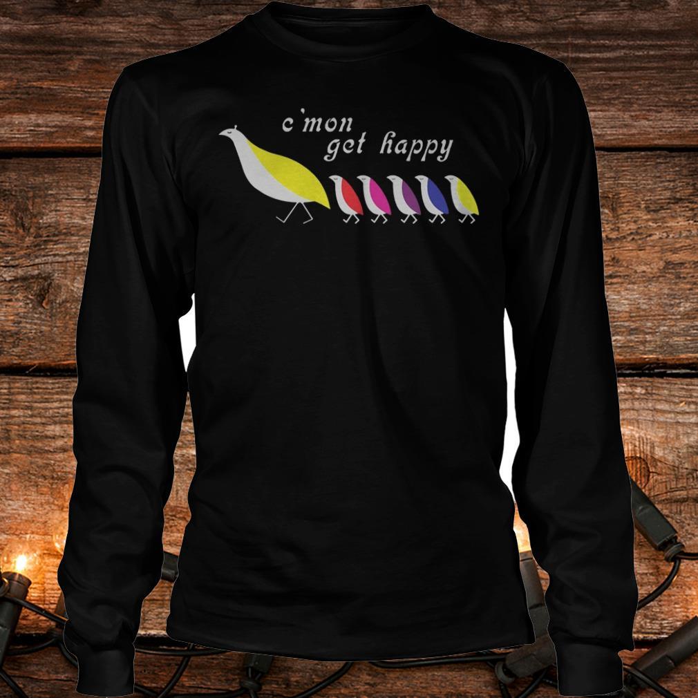 Partridge family C'mon get happy Shirt Longsleeve Tee Unisex
