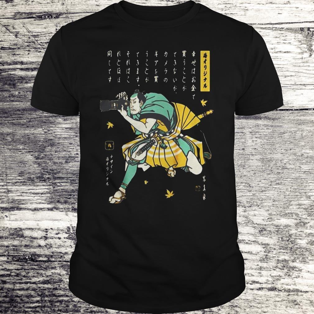 Photographer Samurai Cool Shirt Classic Guys Unisex Tee.jpg