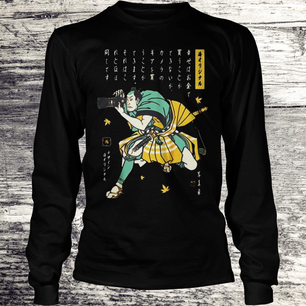 Photographer Samurai Cool Shirt Longsleeve Tee Unisex