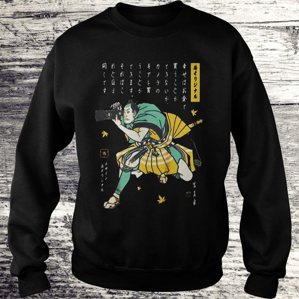 Photographer Samurai Cool Shirt Sweatshirt Unisex