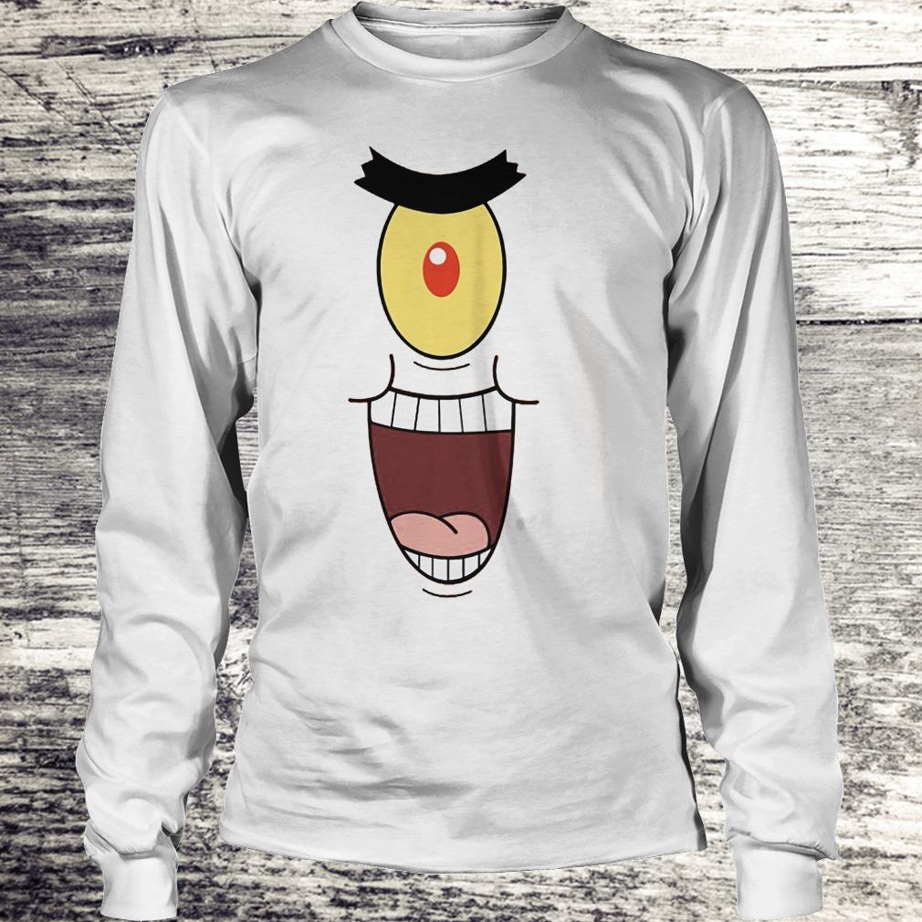 Plankton Evil And Laugh Shirt Longsleeve Tee Unisex