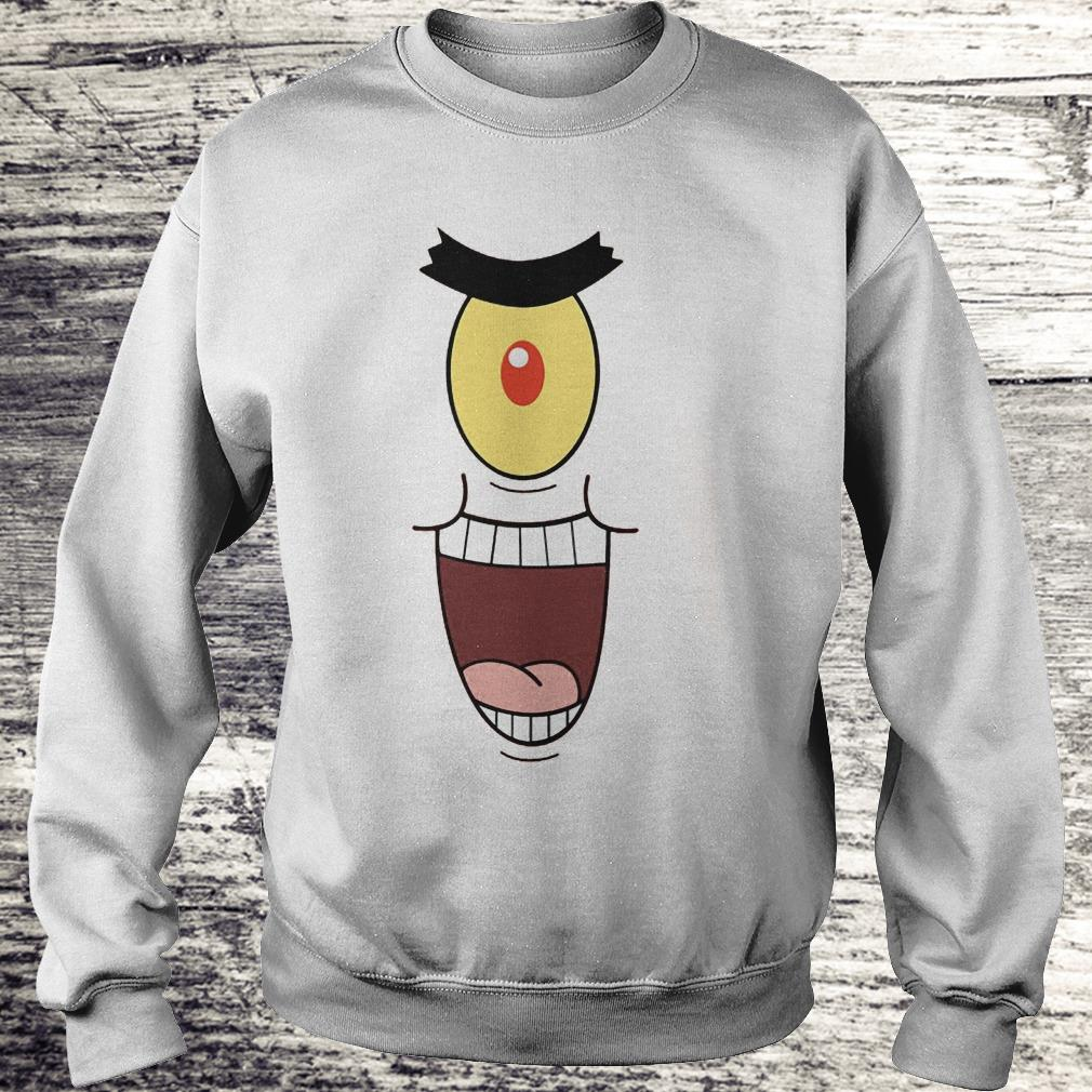 Plankton Evil And Laugh Shirt Sweatshirt Unisex