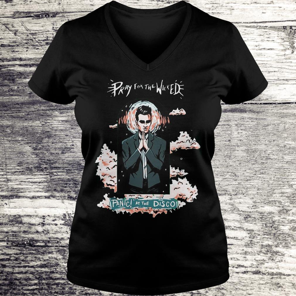 5c863ef1b Pray For The Wicked Panic At The Disco Shirt - Premium Tee Shirt