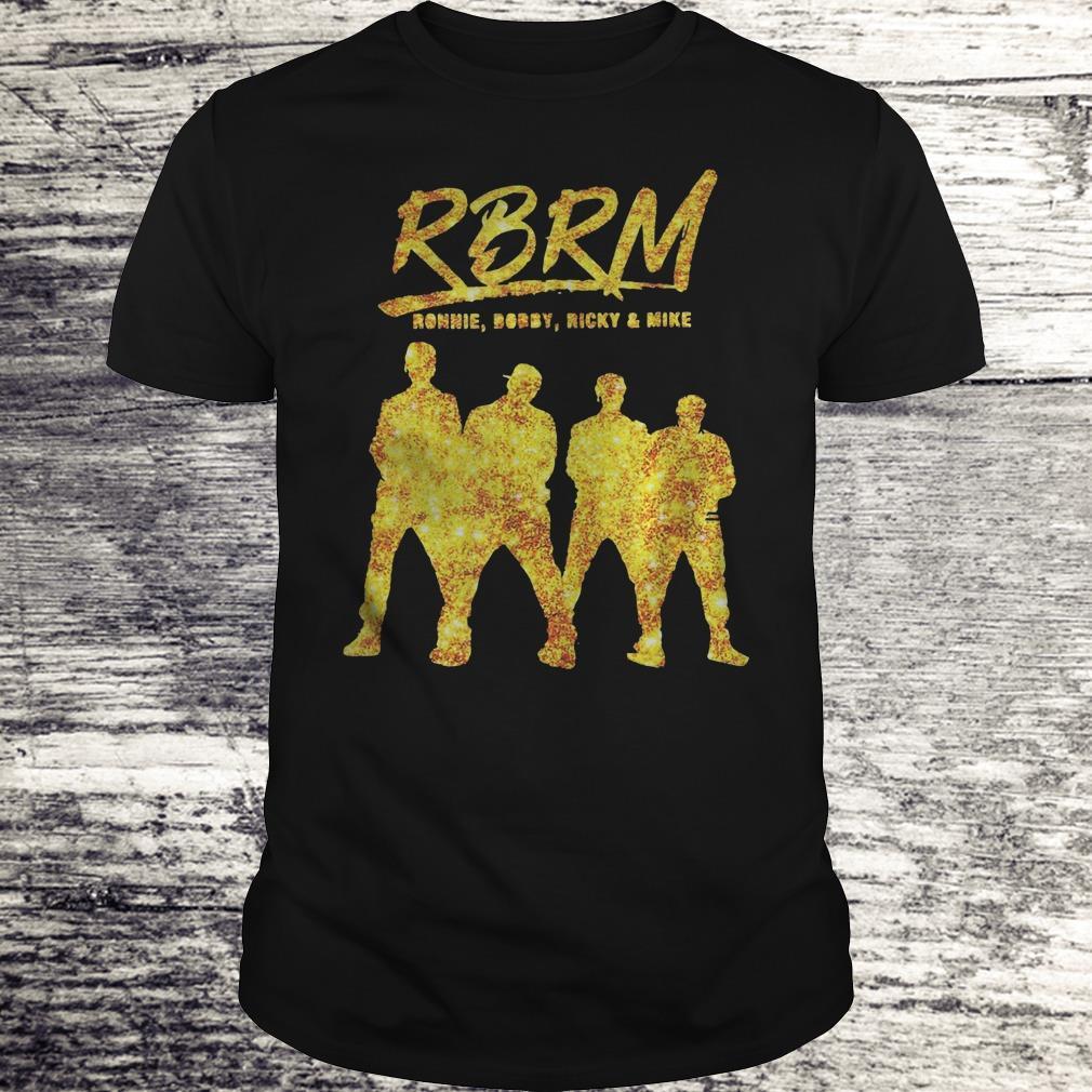 Rbrm Ronnie Bobby Ricky Mike Gold Shirt Classic Guys Unisex Tee.jpg