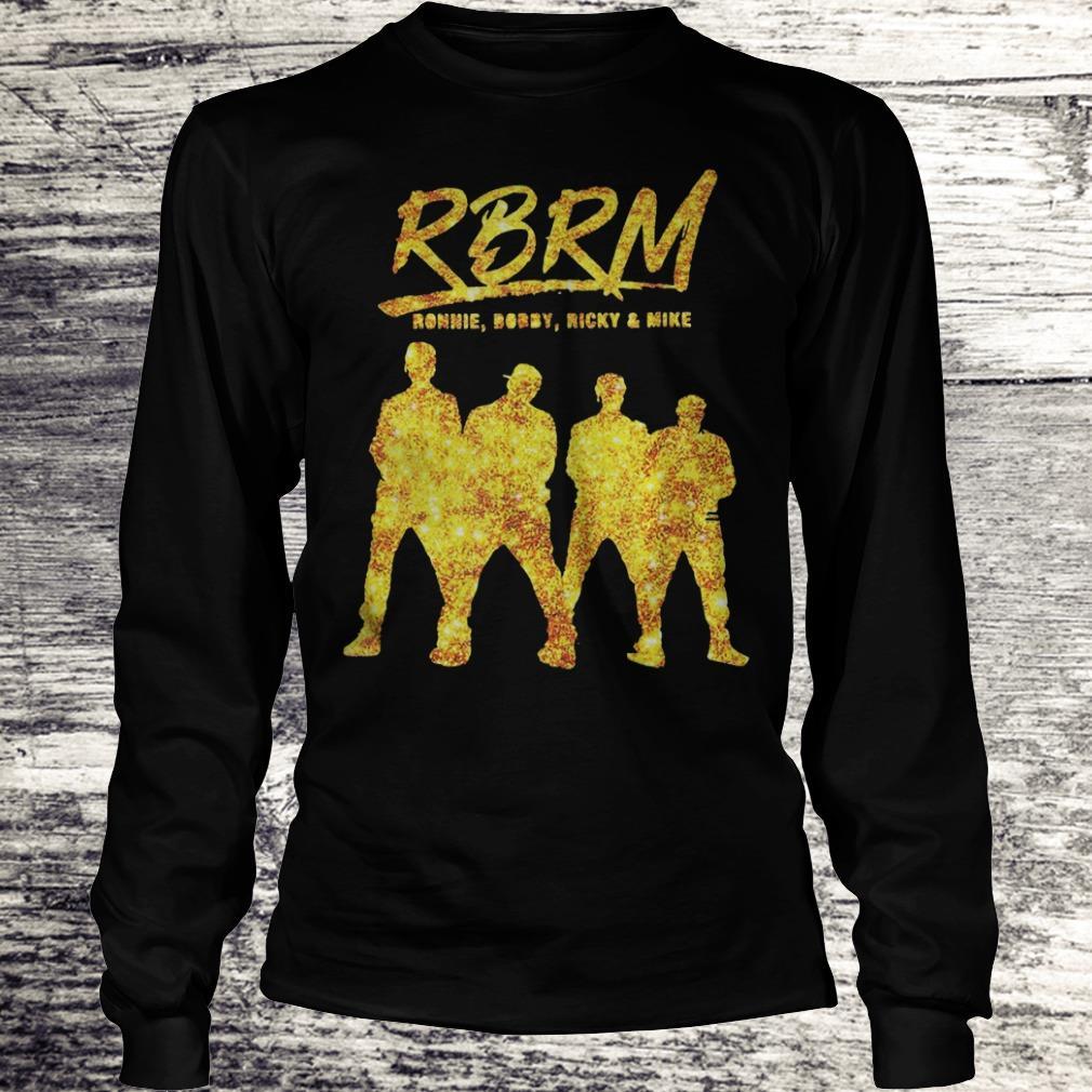 RBRM Ronnie Bobby Ricky & Mike gold Shirt Longsleeve Tee Unisex