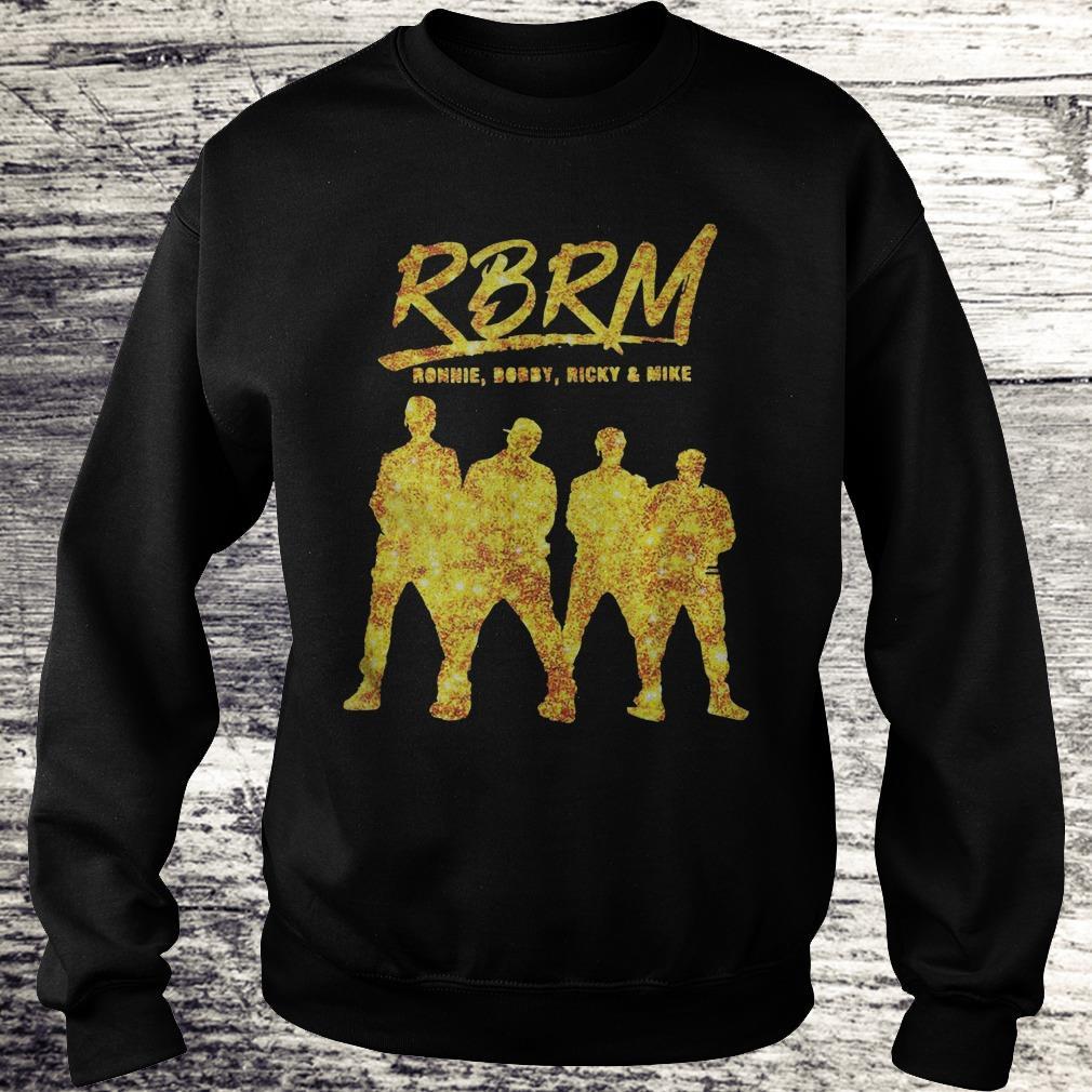 RBRM Ronnie Bobby Ricky & Mike gold Shirt Sweatshirt Unisex