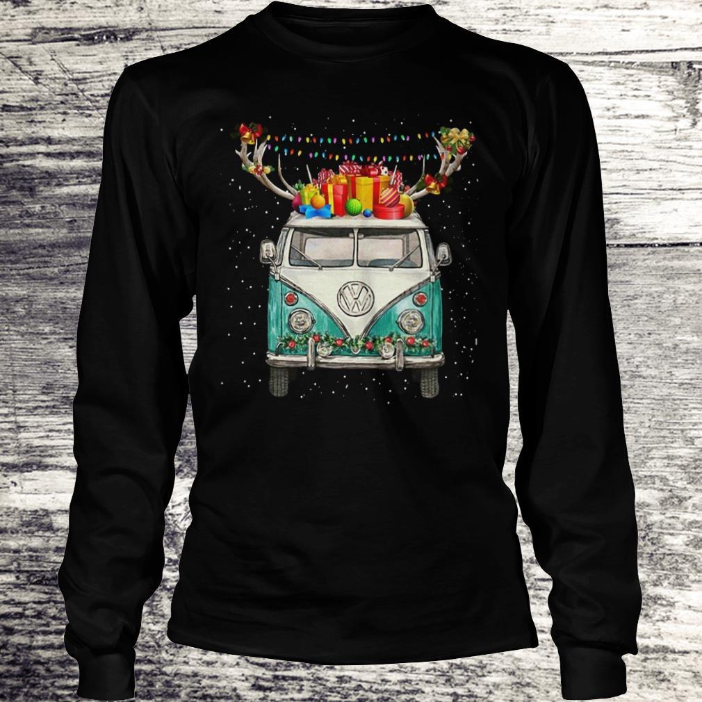 Reindeer Volkswagen Christmas Shirt Longsleeve Tee Unisex