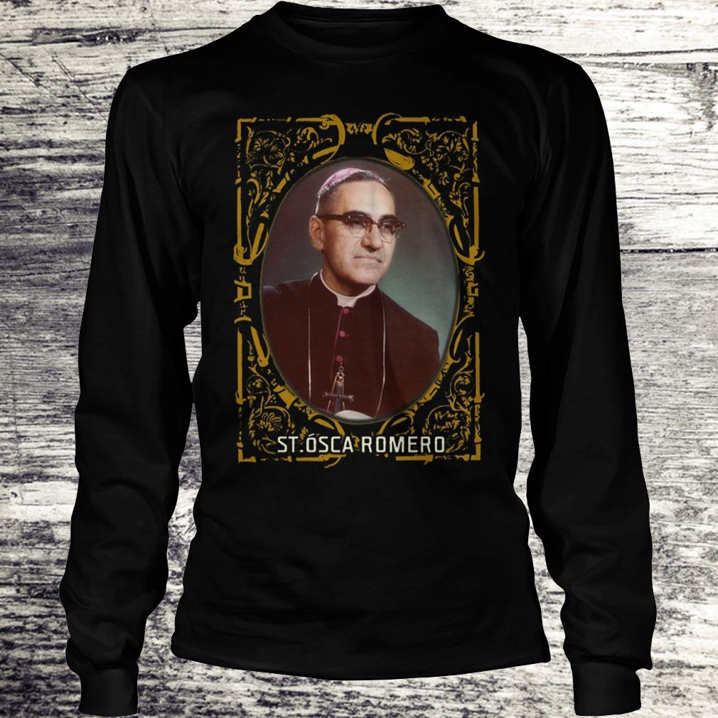 Saint Oscar Romero Shirt El Salvador Catholic Saints Shirt Longsleeve Tee Unisex