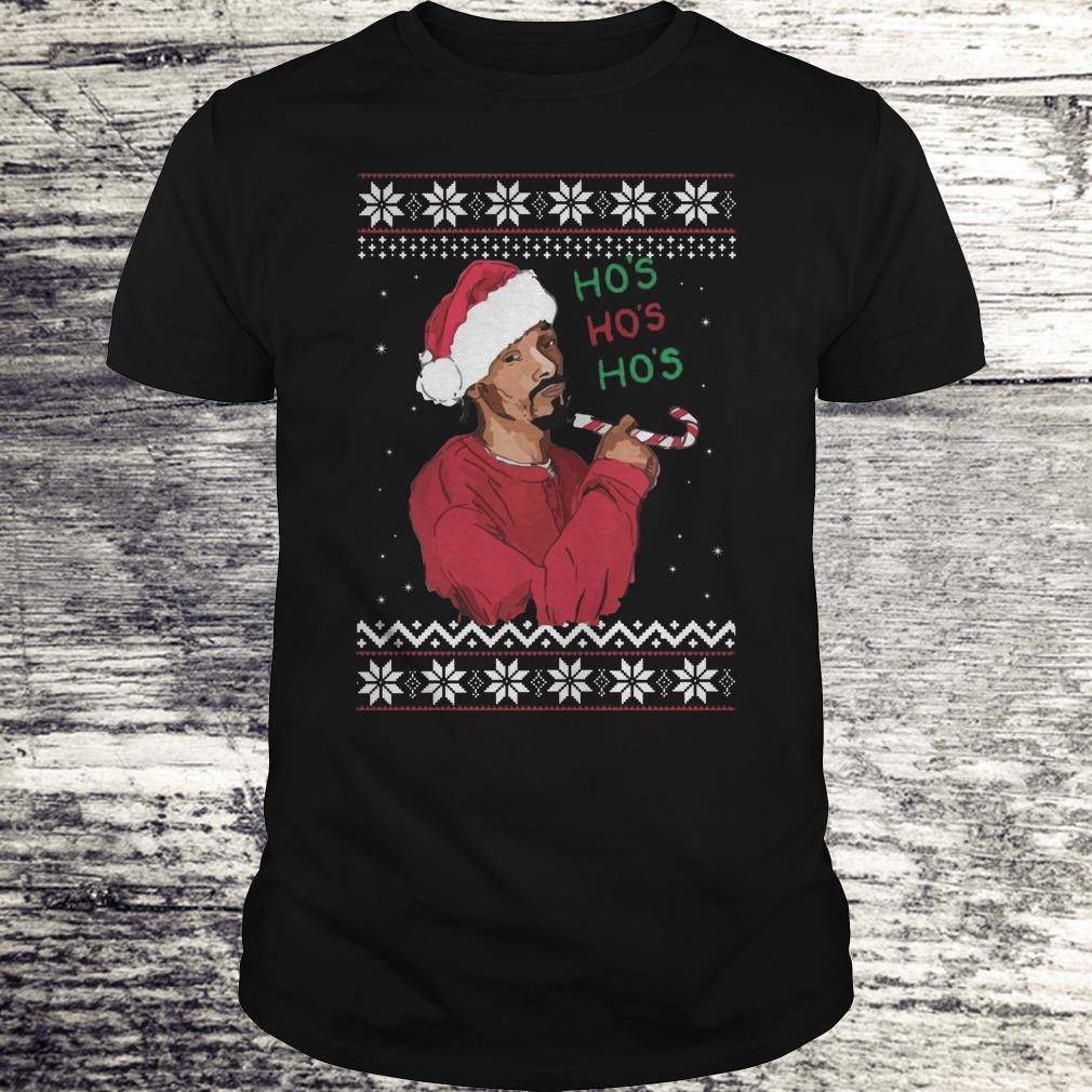 Snoop Dogg Christmas.Snoop Dogg Ho S Christmas Shirt Premium Tee Shirt