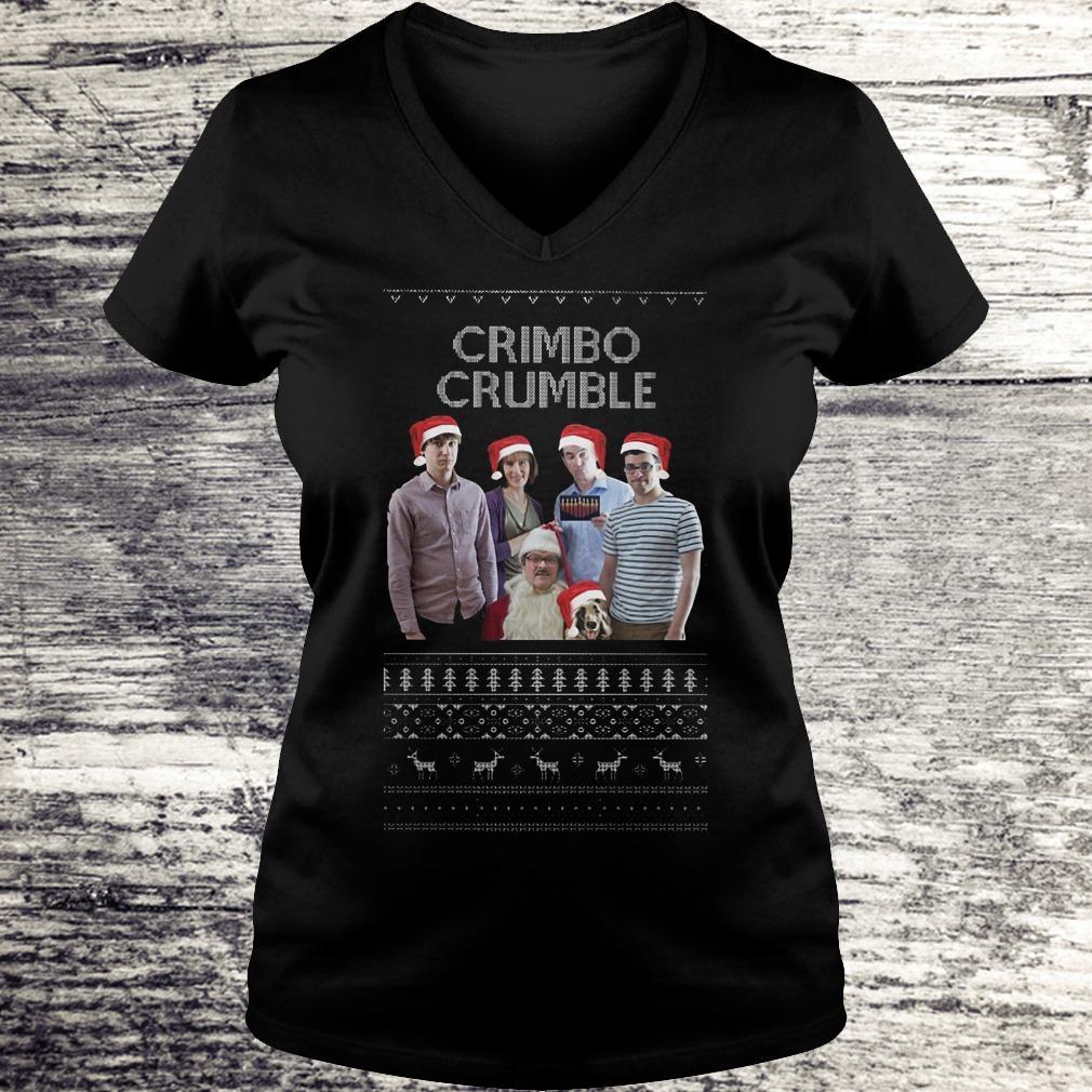 Best Price Friday Night Dinner Crimbo Crumble shirt Ladies V-Neck