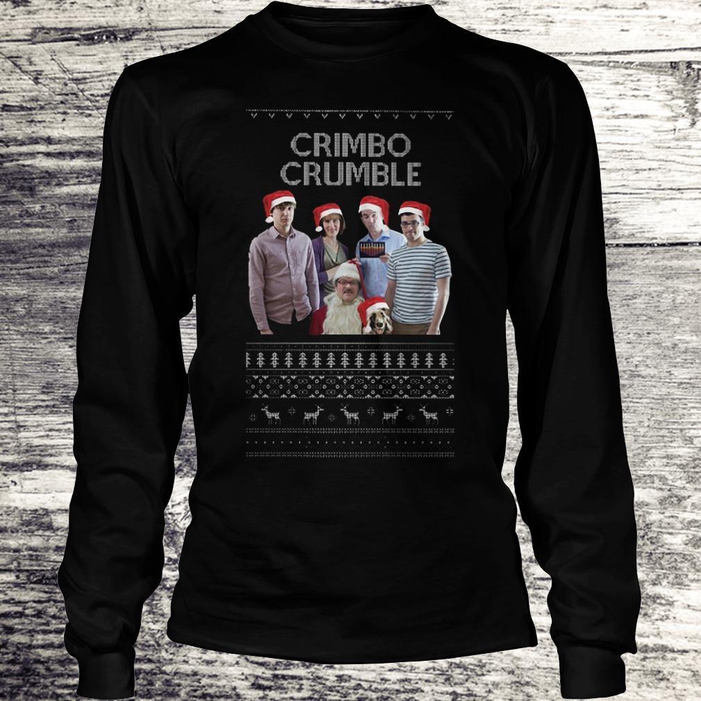Best Price Friday Night Dinner Crimbo Crumble shirt Longsleeve Tee Unisex