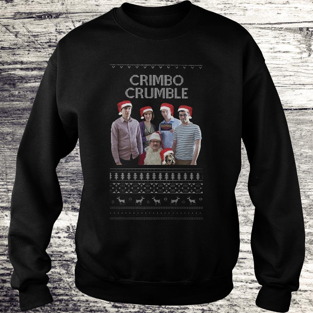 Best Price Friday Night Dinner Crimbo Crumble shirt Sweatshirt Unisex