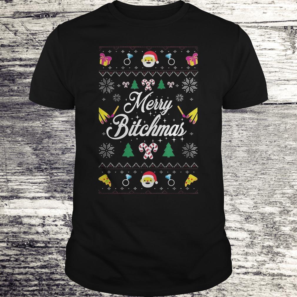 Best Price Merry Bitchmas Sweater shirt Classic Guys / Unisex Tee