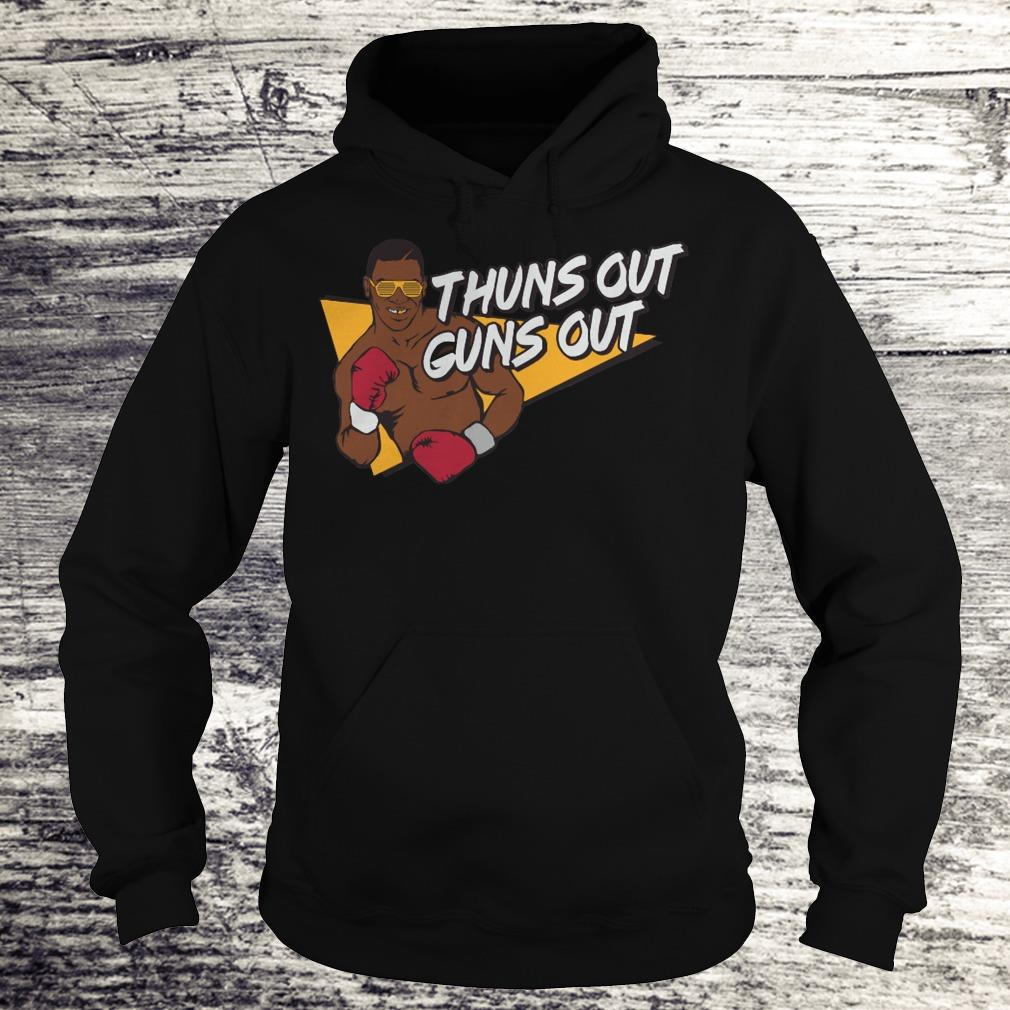 Best price Mr. Tyson thuns out guns out shirt Hoodie