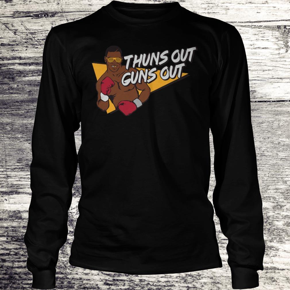 Best price Mr. Tyson thuns out guns out shirt Longsleeve Tee Unisex