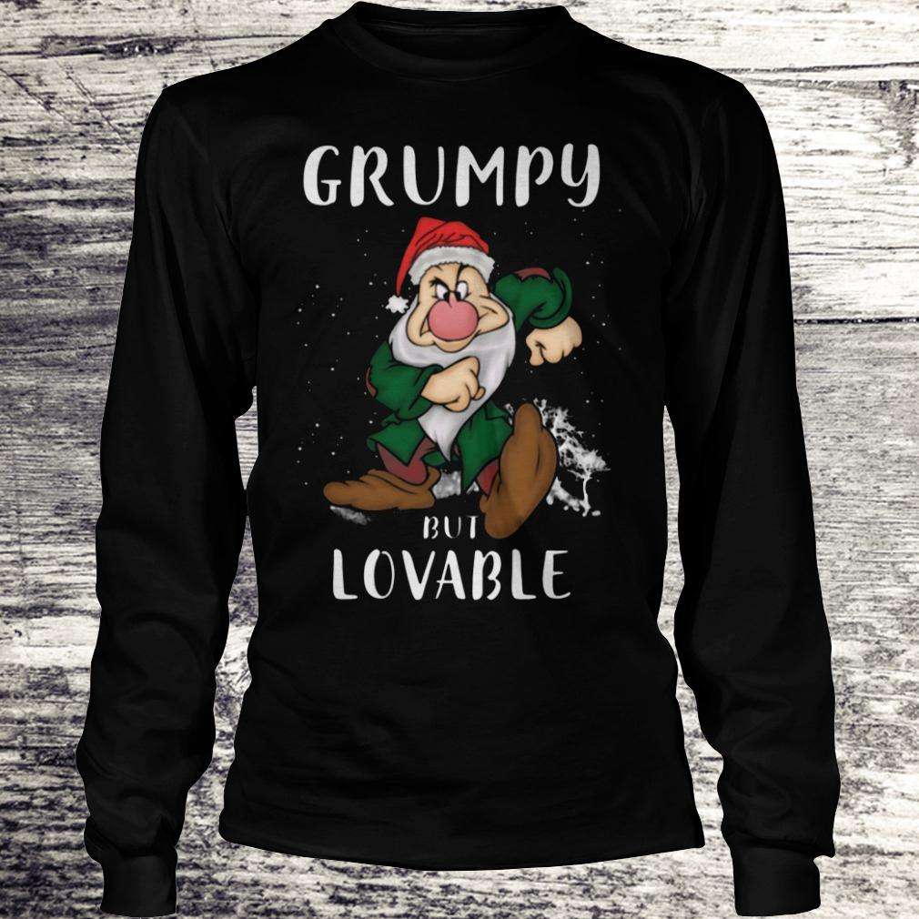 Hot Grumpy but lovable Shirt Longsleeve Tee Unisex