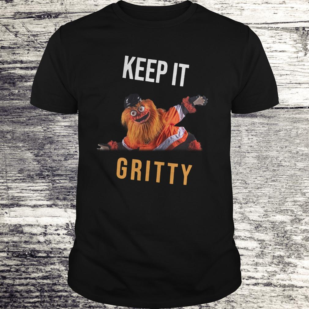 Official Keep It Gritty Flyers Mascot shirt Classic Guys / Unisex Tee