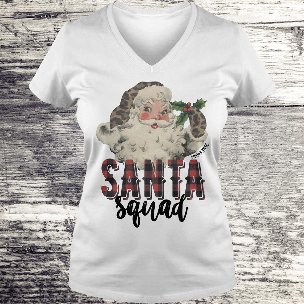 Official Santa Squad shirt Ladies V-Neck