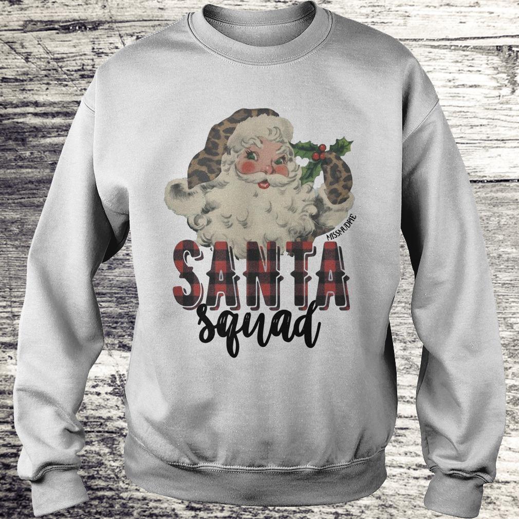 Official Santa Squad shirt Sweatshirt Unisex
