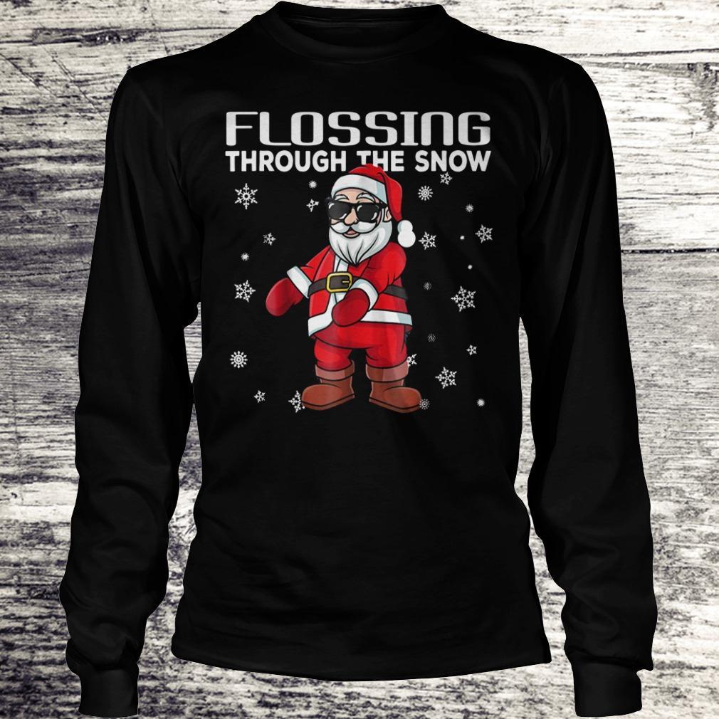 Original Santa Flossing through the snow shirt Longsleeve Tee Unisex