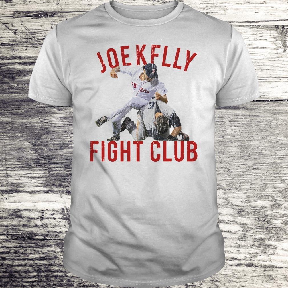 Top Boston Baseball Joe Kelly Fight Club shirt Classic Guys / Unisex Tee