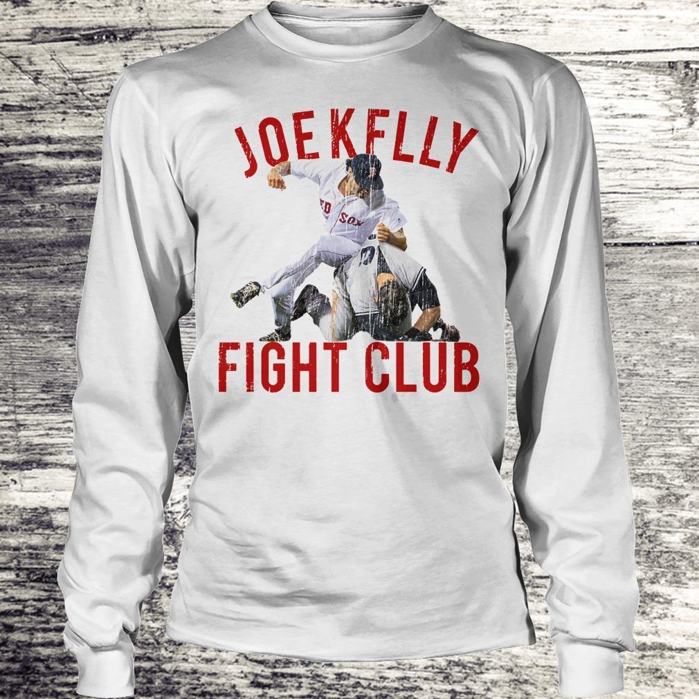 Top Boston Baseball Joe Kelly Fight Club shirt Longsleeve Tee Unisex