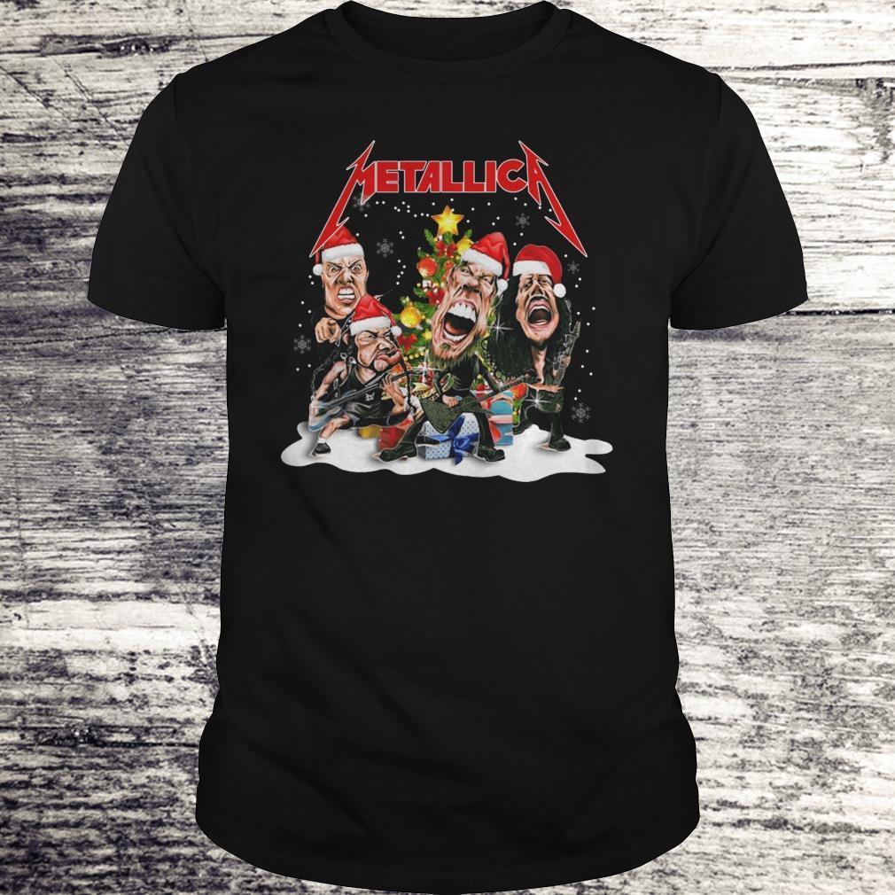 Top Metallica Christmas tree shirt Classic Guys / Unisex Tee