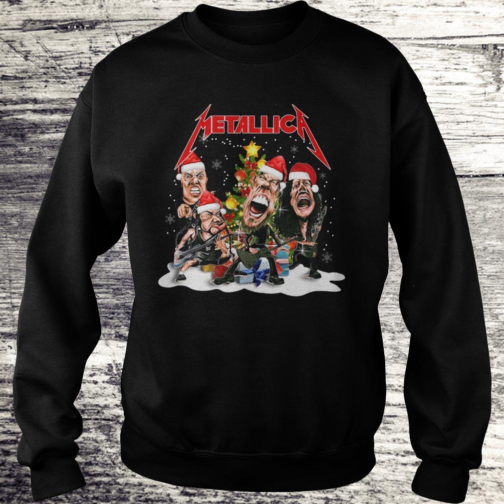 Top Metallica Christmas tree shirt Sweatshirt Unisex
