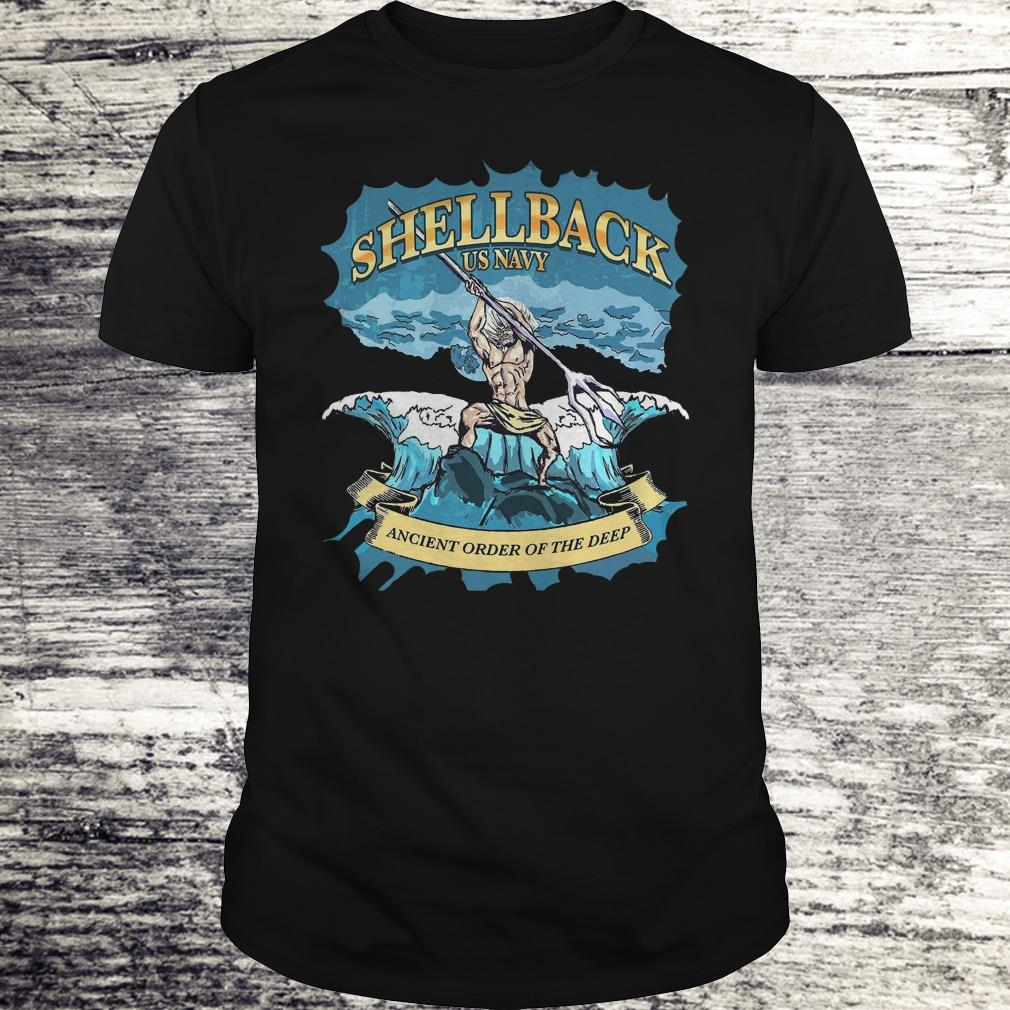 Top Shellback Us Navy Ancient Order Of the deep shirt Classic Guys / Unisex Tee