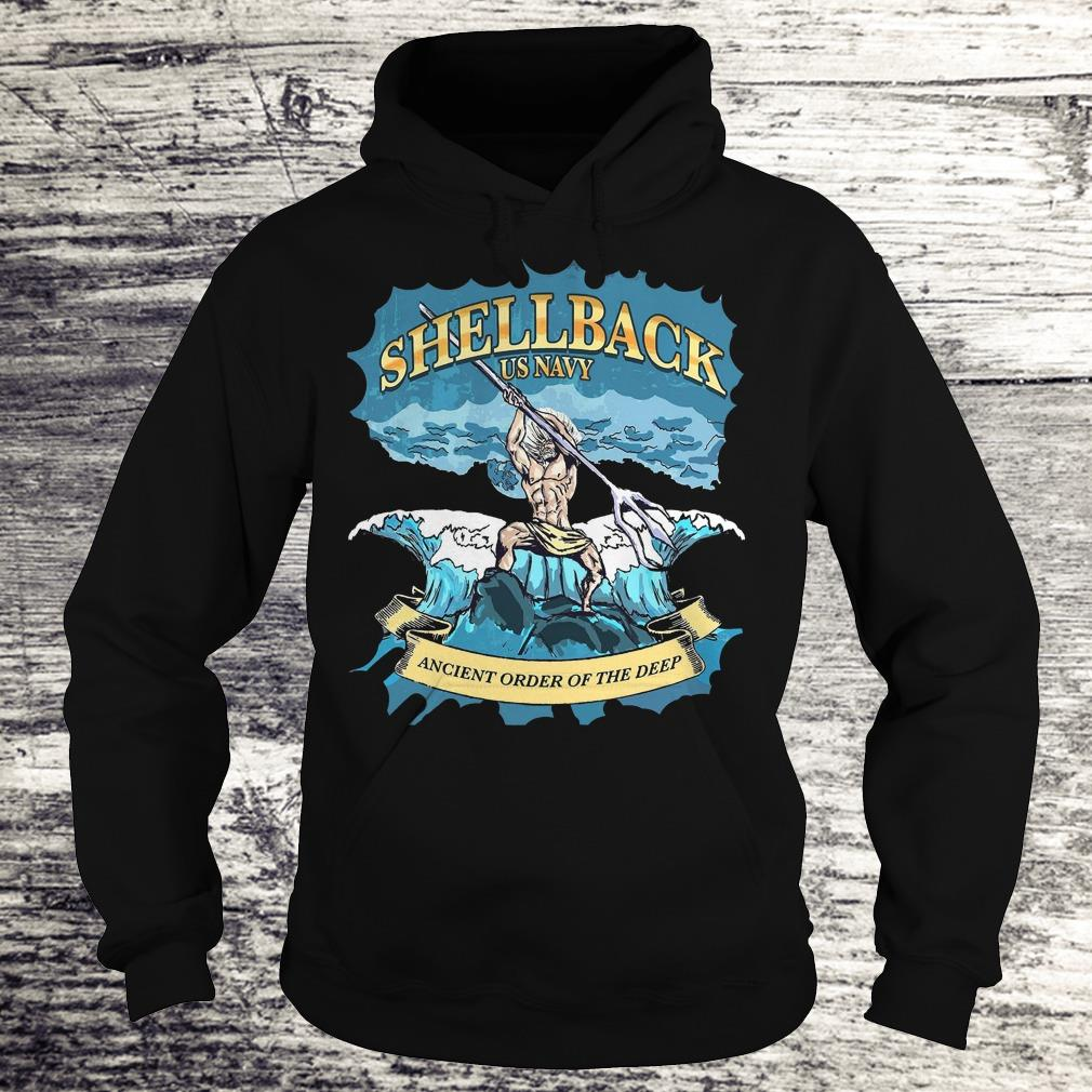 Top Shellback Us Navy Ancient Order Of the deep shirt Hoodie