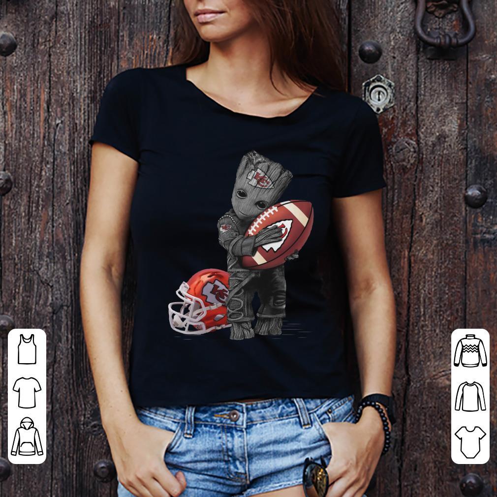 new products 48bd7 56579 Premium Baby Groot hug Kansas City Chiefs shirt