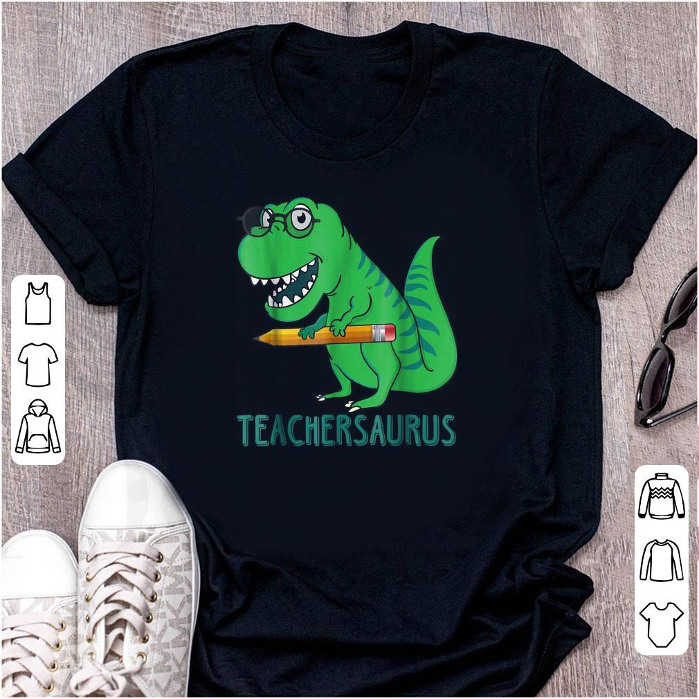 Cute Dinosaur Teacher Saurus shirt
