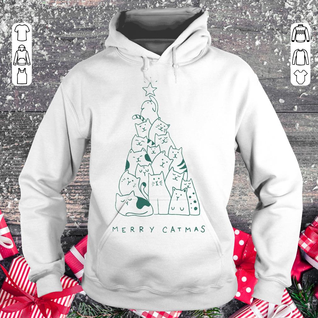 Original Merry catmas shirt sweater Hoodie