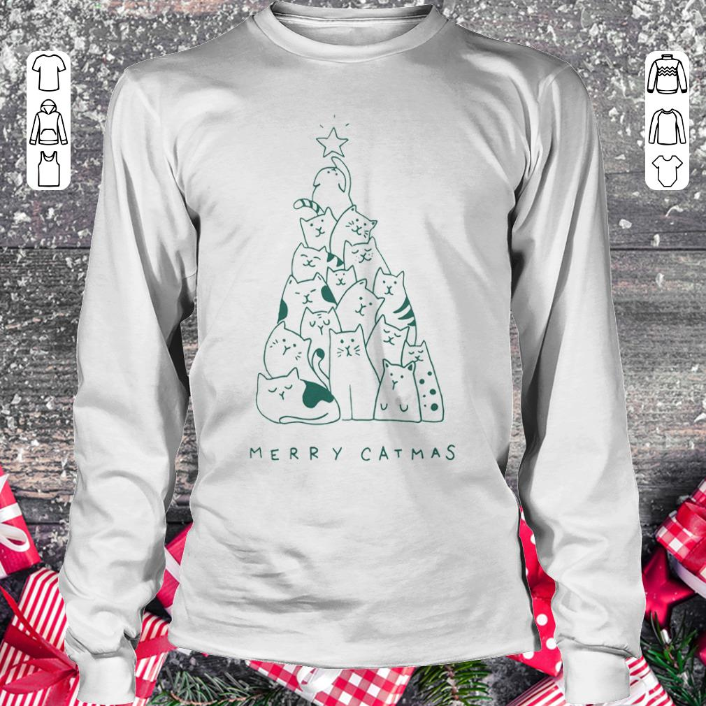 Original Merry catmas shirt sweater Longsleeve Tee Unisex