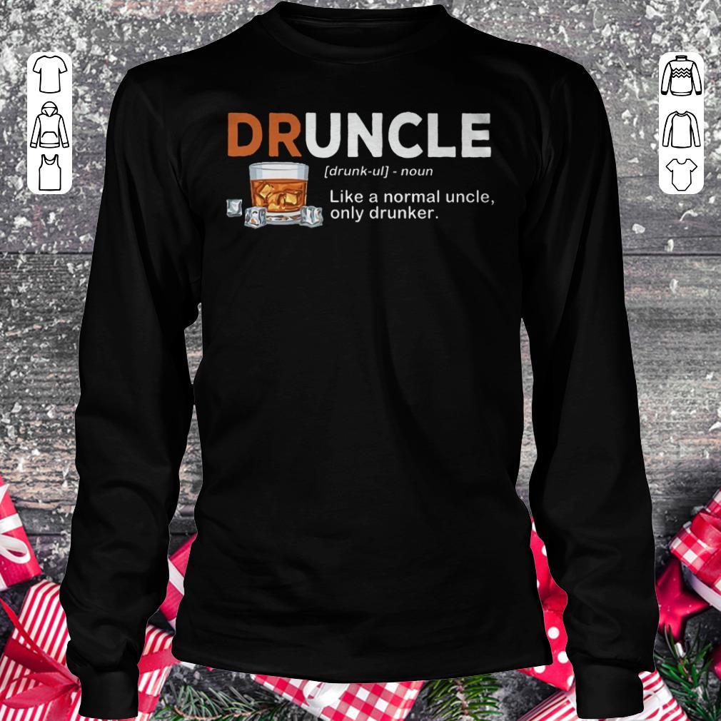 Premium Druncle definition Shirt sweater Longsleeve Tee Unisex