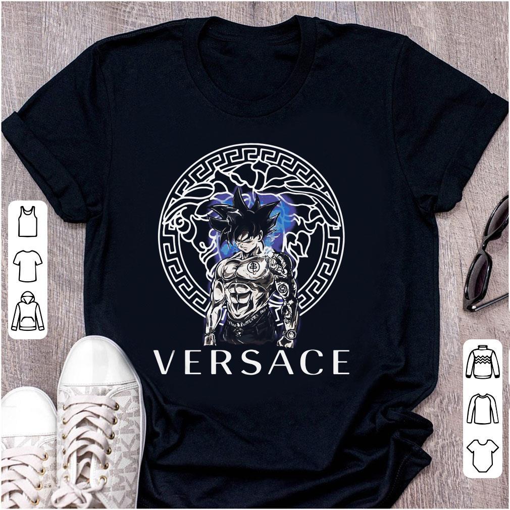 175bafb2 Funny Dragon Ball Super Goku Ultra instinct Versace shirt, hoodie