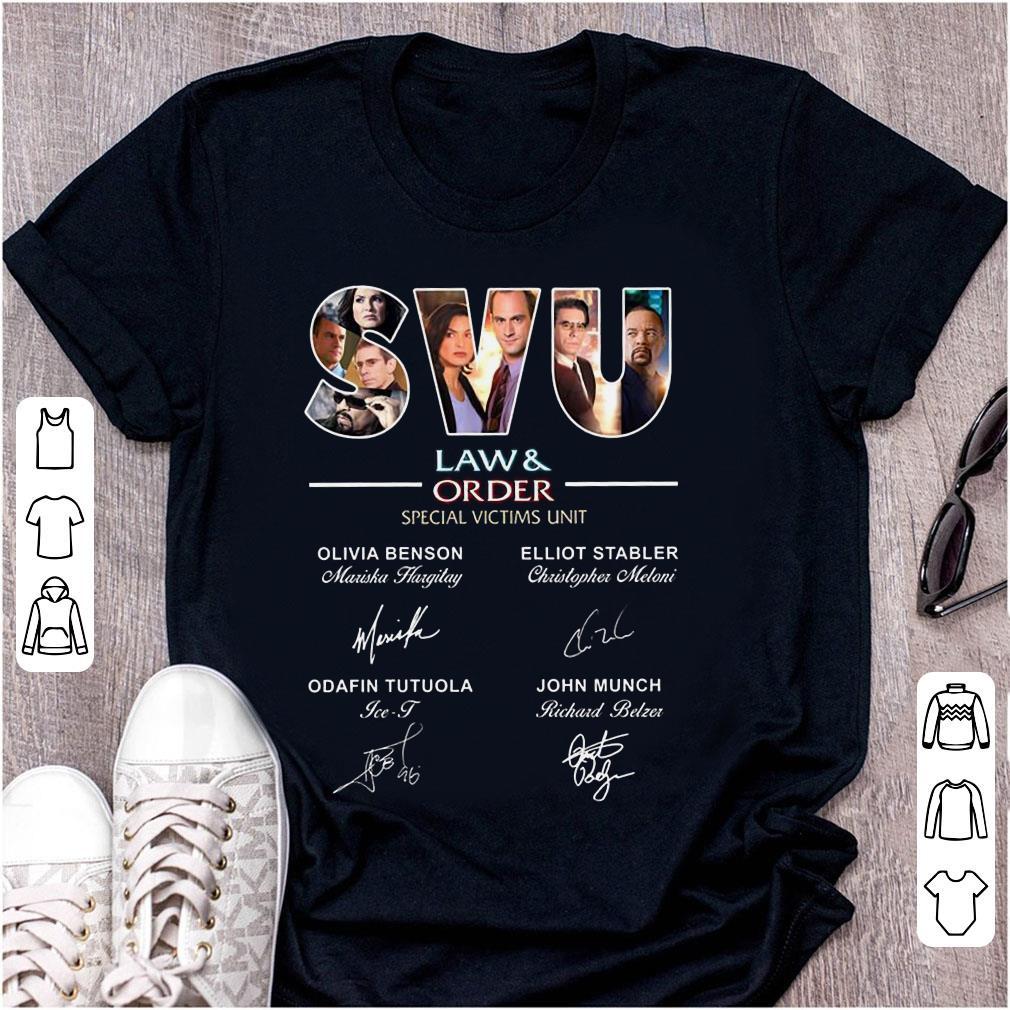 b59c7254ac5 Funny SVU Law & Rrder special victims unit signature shirt