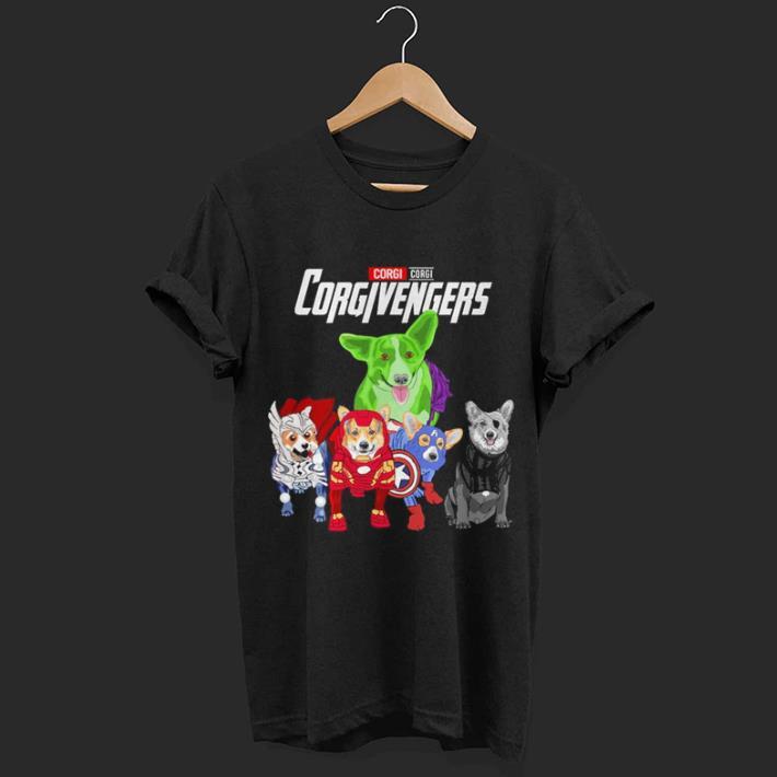 Corgi Corgivengers Avengers Endgame shirt