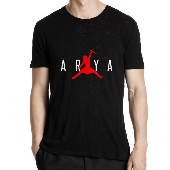Nice Arya Stark Jumpman Game of Thrones shirt