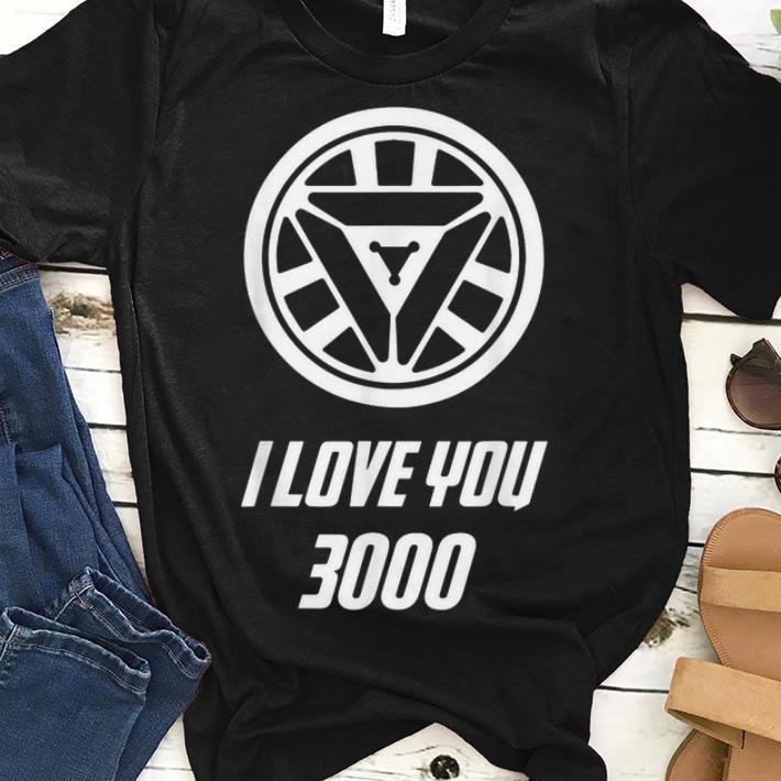4f5c8ec5 Original trend Arc Reactor I Love You 3000 Daughter Iron man shirt ...