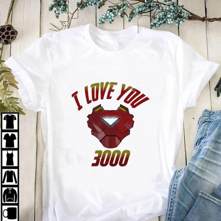 Premium I Love You 3000 Iron Man Avengers Endgame Tony Stark shirt