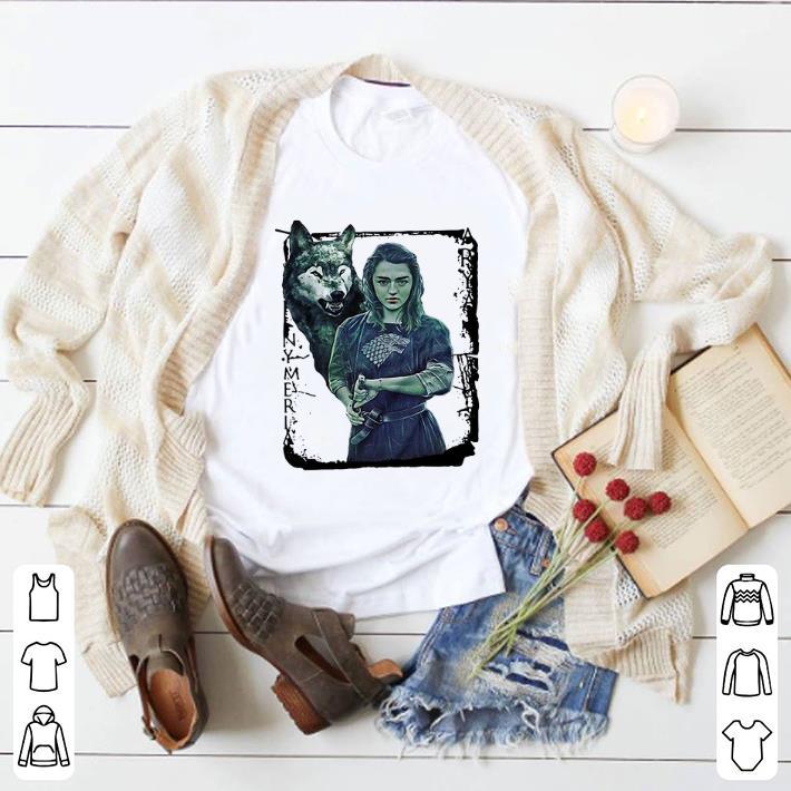 Top Game Of Thrones Nymeria Arya Stark shirt