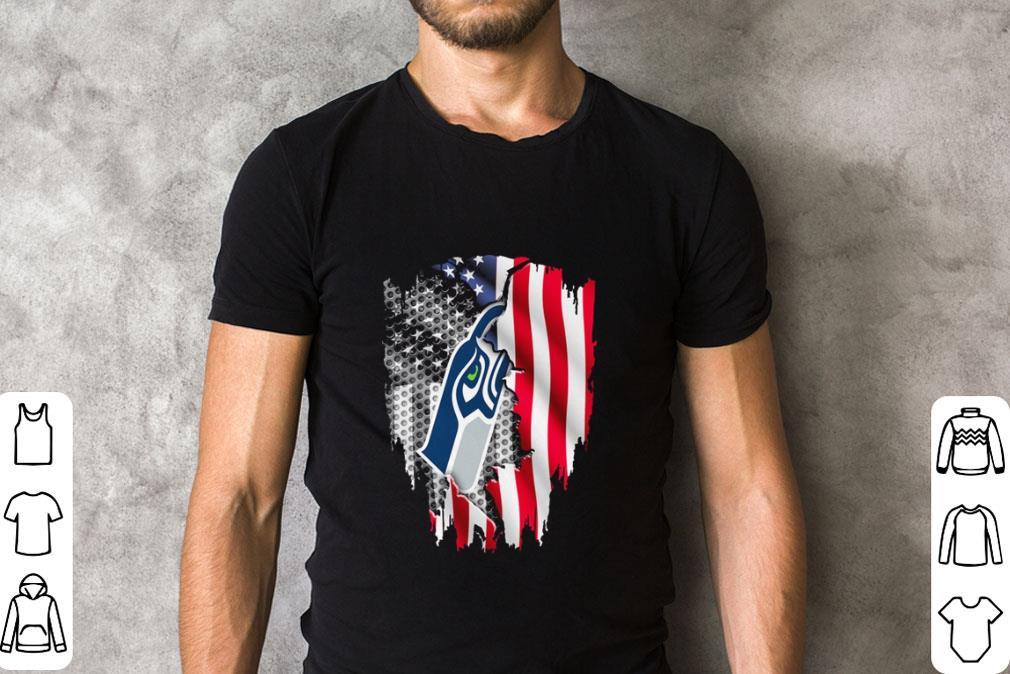 seahawks flag shirt