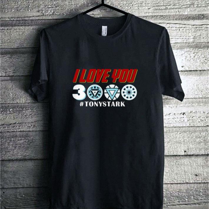 Nice Iron man I love you 3000 #TonyStark Marvel Avengers Endgame shirt