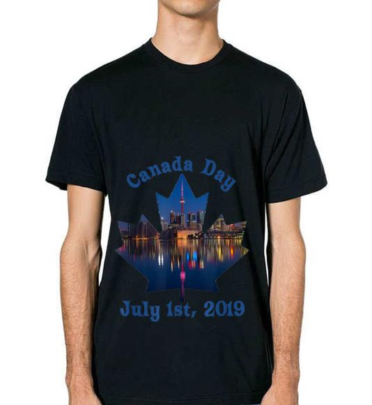 Official Canada Day July 1st 2019 Gift Holiday Birthday Fireworks Shirt