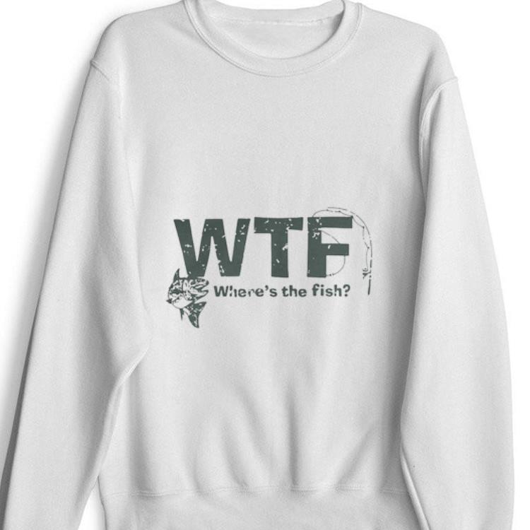 Official WTF Where's The Fish Shirt