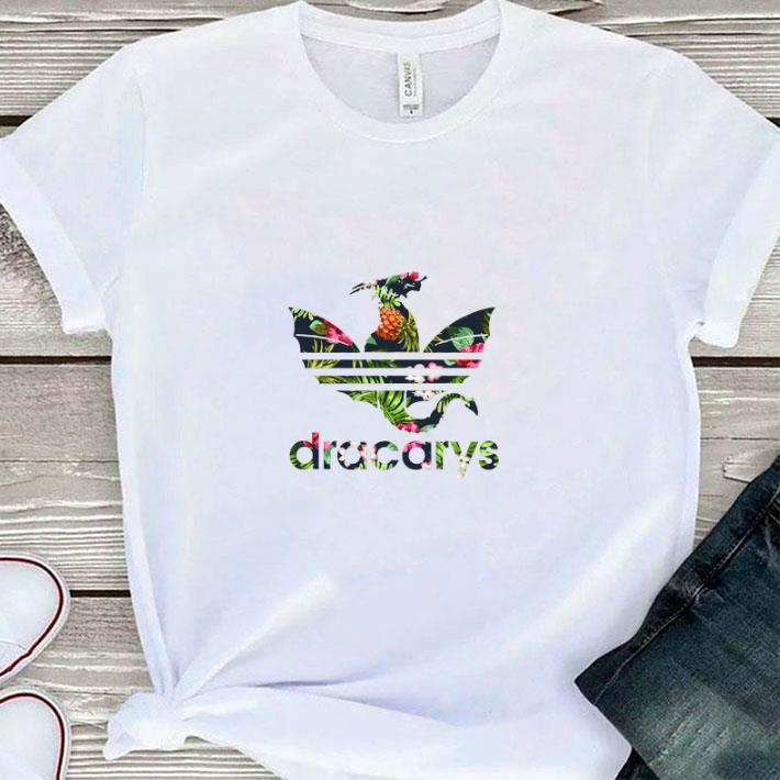 Original Flower Game of Thrones dracarys Floral shirt